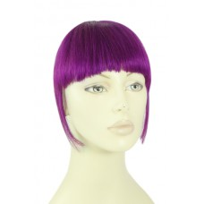 Remy Human Hair Clip-in Pony purple - paars
