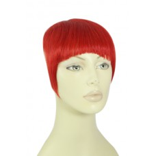 Remy Human Hair Clip-in Pony rood - red