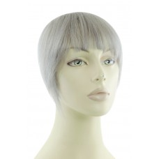 Remy Human Hair Clip-in Pony silver grey - SG#