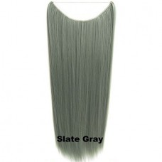 Wire hair straight Slate Gray