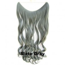 Wire hair wavy Slate Gray