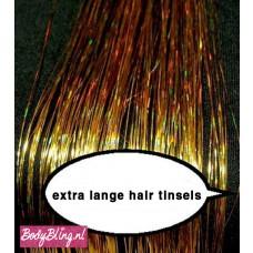 Hair Tinsels Sparkling gold #1