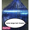 Hair Tinsels Sparkling blue #22