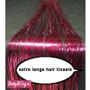Hair Tinsels Shiny pink #11