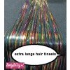 Hair Tinsels Shiny rainbow #4