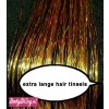 Hair Tinsels Sparkling gold #1