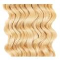Clip-in Curly Bleach Blonde #613